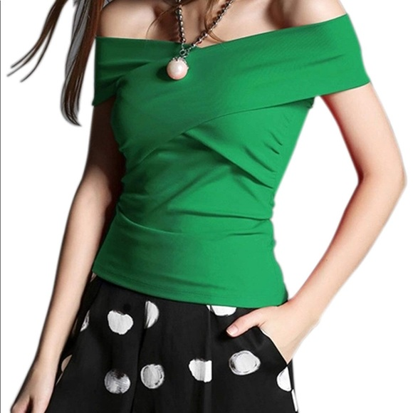 416e9888d705e8 Maggie Tang Tops | Rockabilly Pinup Black Cross Top | Poshmark